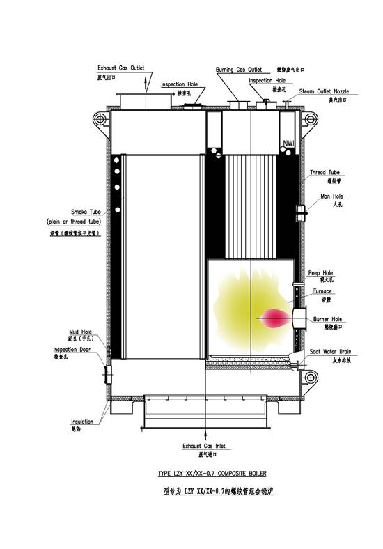 LYZ立式螺纹管船用锅炉
