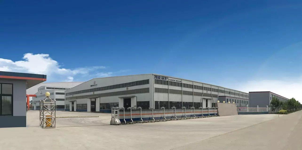 凯能锅炉新厂房