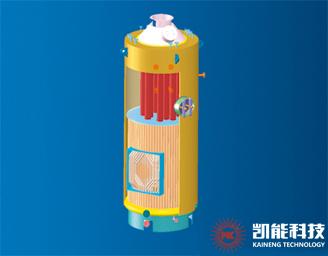 青油9#船LSK型立式针形管船用锅炉顺利交付