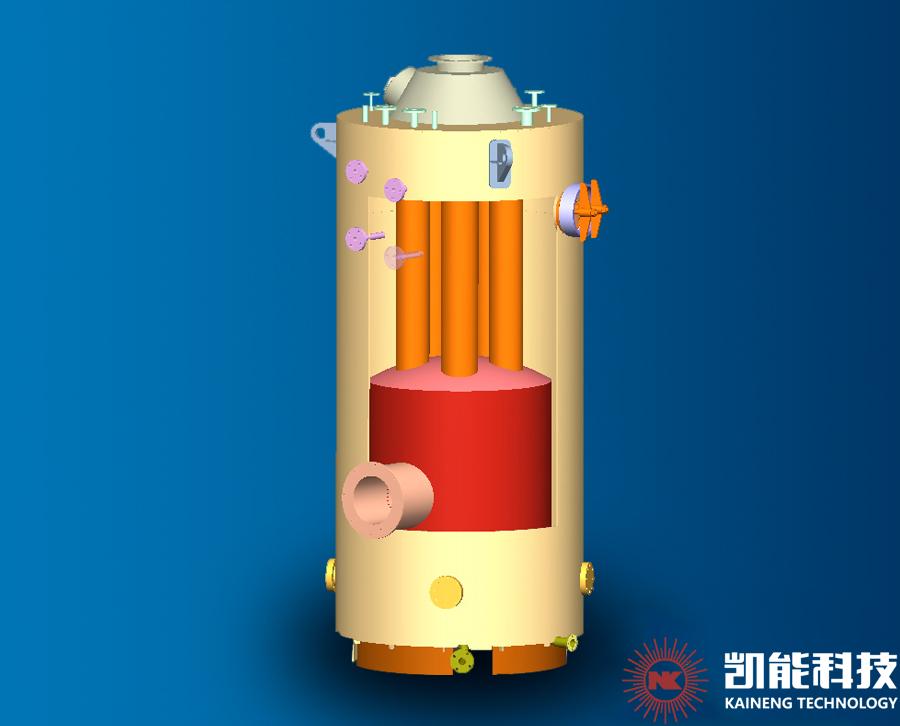 LSK立式针形管锅炉